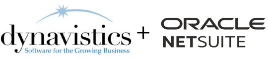 Dynavistics + NetSuite logo