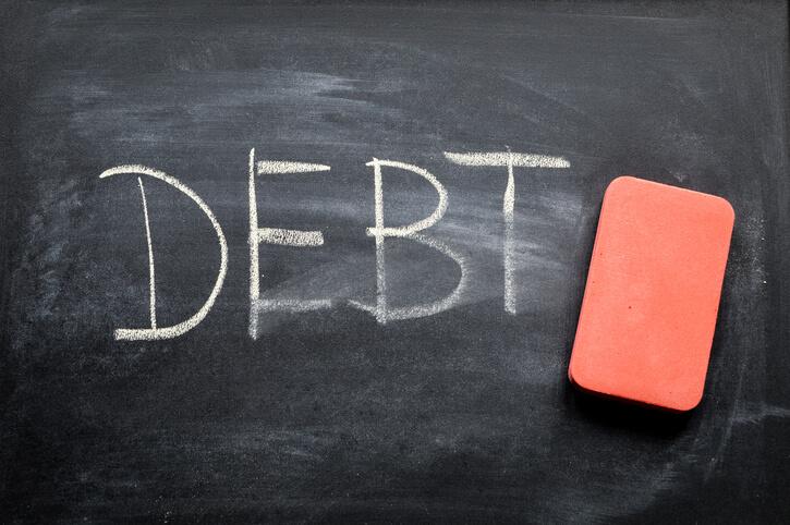 Erase Bad Debt