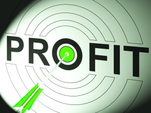 Profit Showing Business Success In Trading And Income