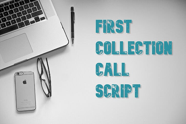 first collection call script